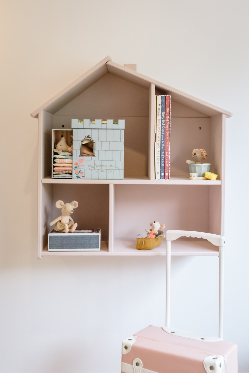 Wall hung dolls house IKEA hack