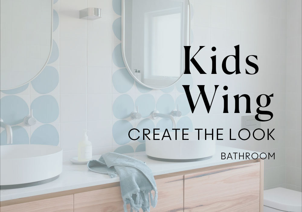 Create the look bathroom